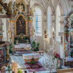 Blick von der Empore - Kirche in Oberperfuss