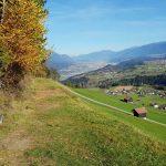 Blick von Oberperfuss Berg Richtung Innsbruck