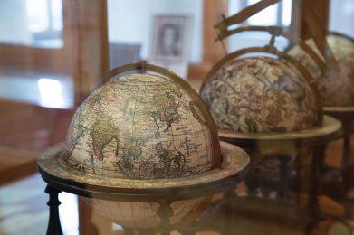 Globen im Anich-Hueber Museum