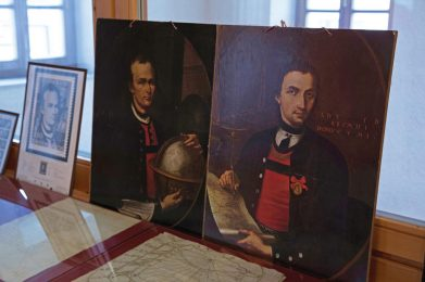 Porträts Peter Anich und Blasius Hueber