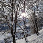 Winteridylle in Oberperfuss-Berg