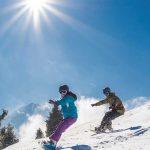 Snowboarder am Rangger Koepfl