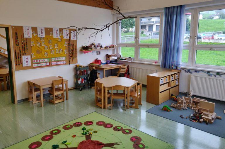 Blick in den Kindergarten Oberperfuss