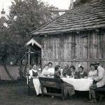 Erste Gäste um die Jahrhundertwende in Oberperfuss - ca. 1910